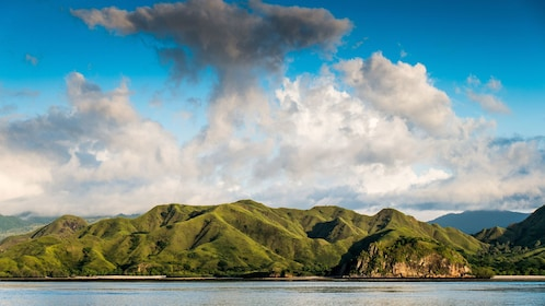 mountain view in bali