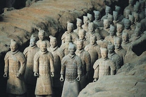 Private Pingyao Bullet Train Trip to Xi'an: Terracotta Warriors and City Wa...