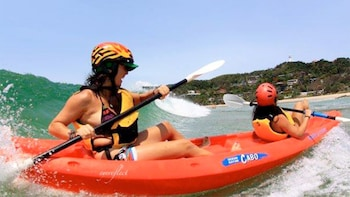 Guided Kayaking Trip with Dolphin and Whale Spotting