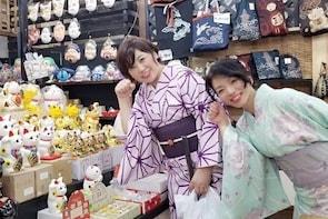 Walk around Ibaraki Kasama Inari Shrine in Kimono