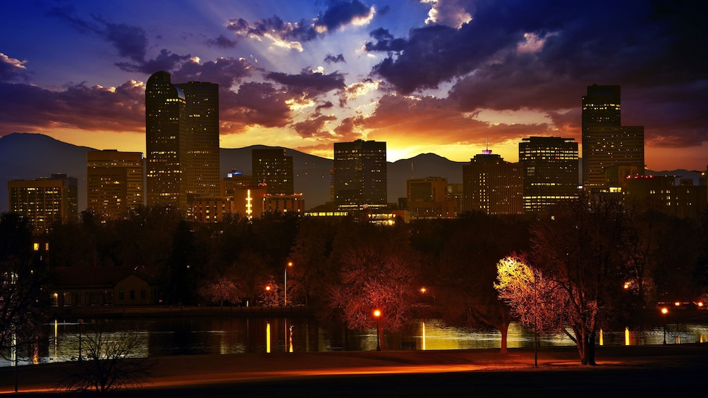 City view in Denver