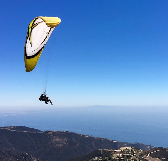 Show item 1 of 10. Tandem Mountain Top Paragliding Flight up to 30min