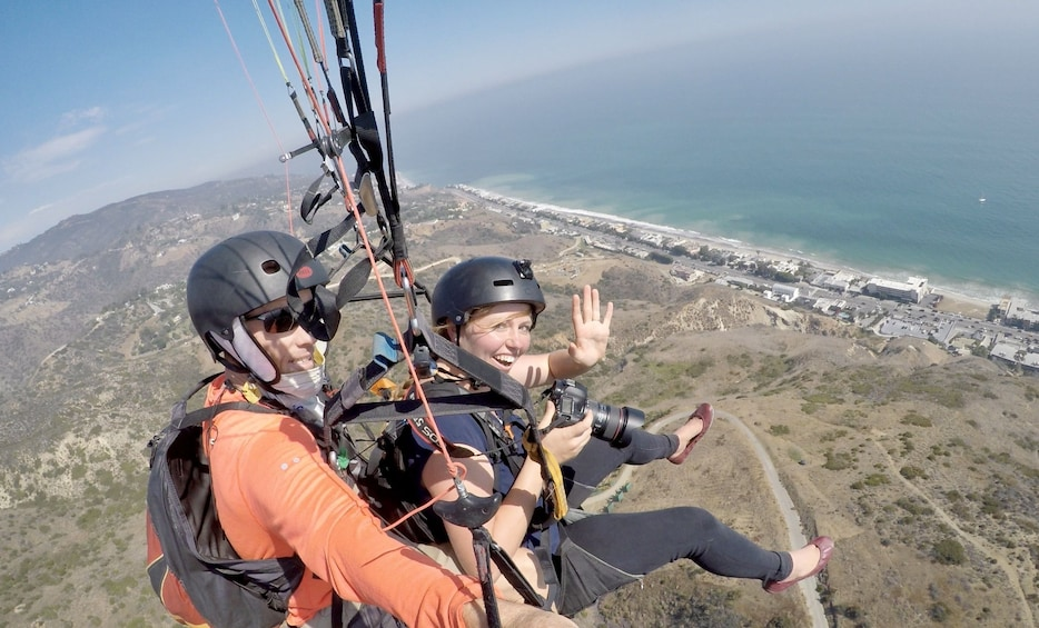 Show item 10 of 10. Tandem Mountain Top Paragliding Flight up to 30min