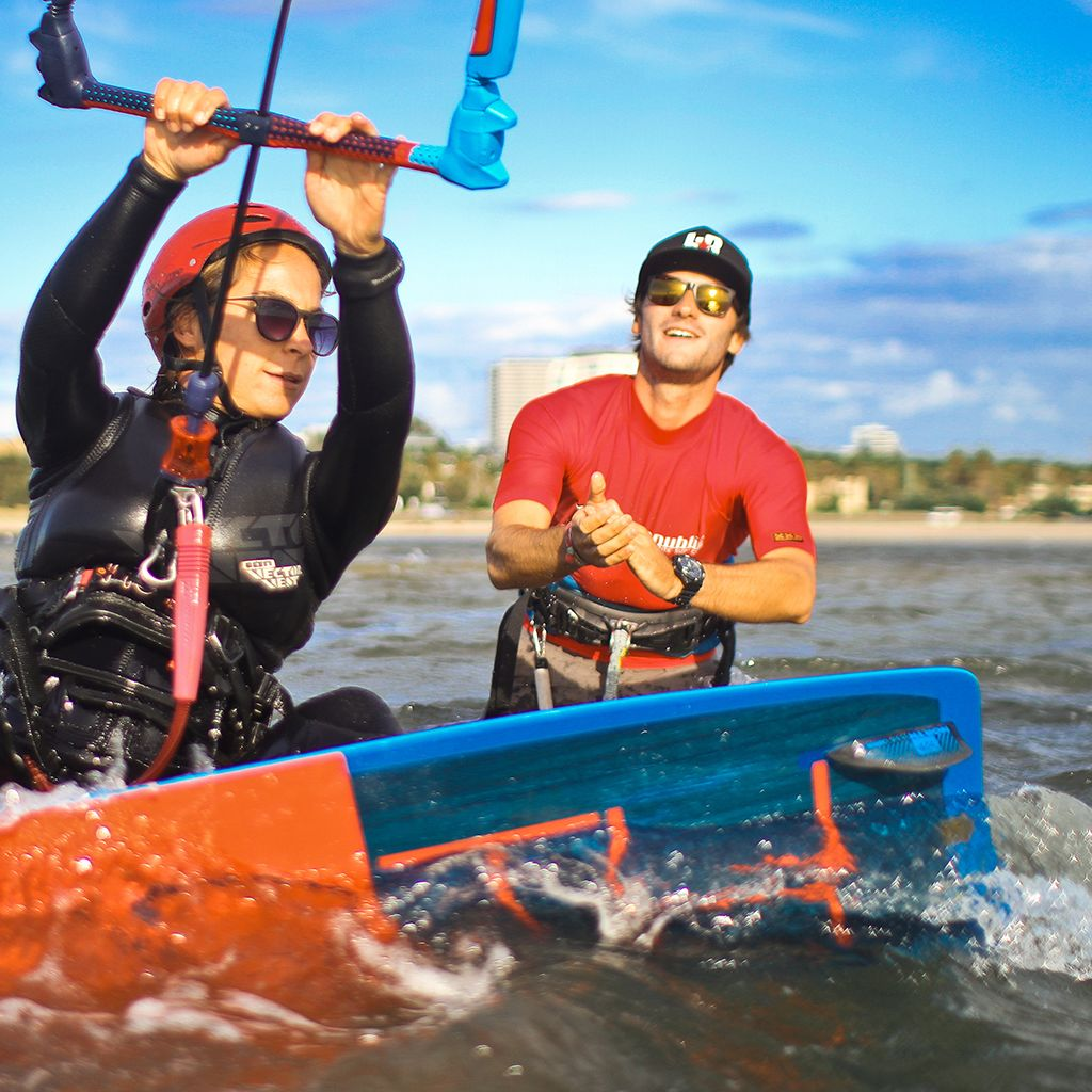 Kiteboarding Lessons in St Kilda - Passport to Ride Course