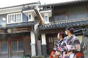[Tokushima / Mima City] Time slip to the Edo period! Rickshaw experience in...