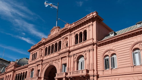 old historical building in Argentina