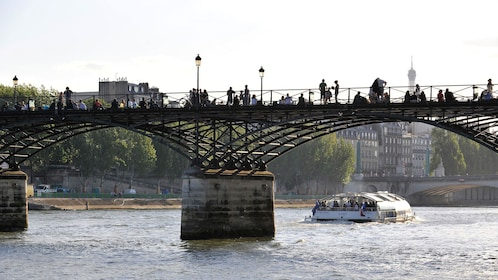Batobus on the Seine.