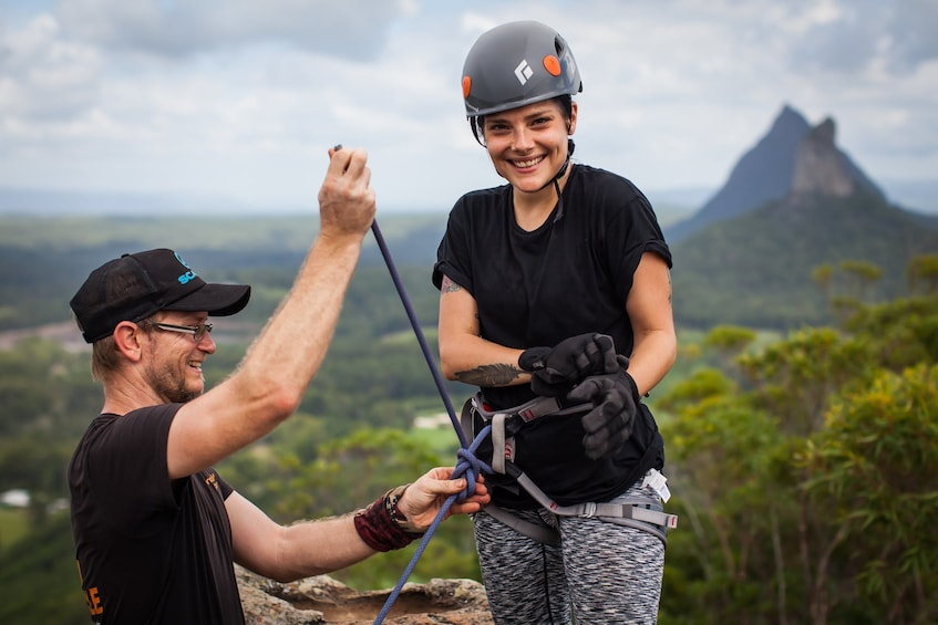 Show item 5 of 5. Glass House Mountains Abseiling Adventure
