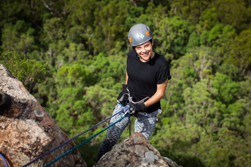 Show item 3 of 5. Glass House Mountains Abseiling Adventure