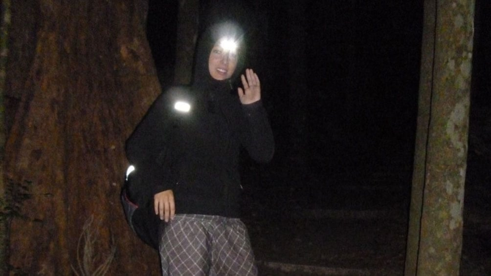 Show item 2 of 5. hiking in the dark to catch the morning sunrise in Australia