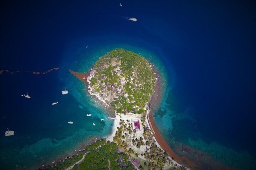 Flight over Guadeloupe in Autogire