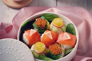 Japanese cooking class for foreigners