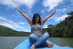 TARAPOTO! Laguna Azul Sauce + Boat Trip + Raft + Viewpoint + Lunch and more