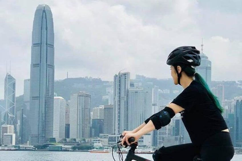 Show item 1 of 7. Private Cycling Tour in Hong Kong