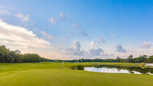 Panoramic view of View of Moon Palace Golf Club in Cancun