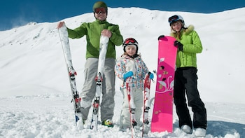 Ski or Snowboard Rental - Rainbow Mountain location only