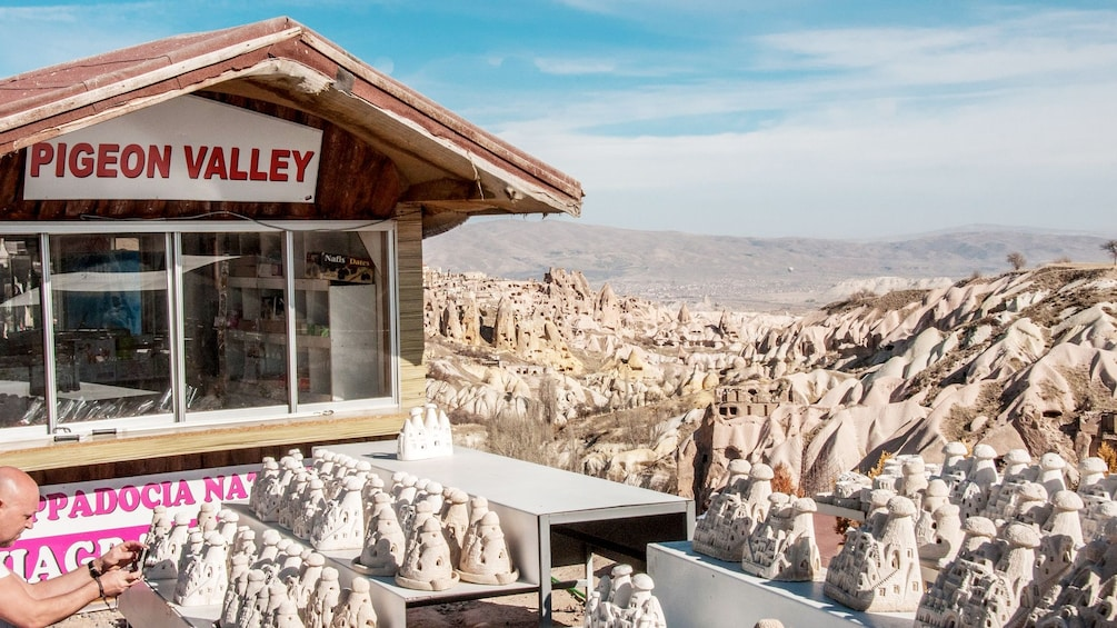 Show item 2 of 5. Pigeon Valley view in Cappadocia