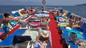 Marmaris Coast Boat Trip include Lunch with Hotel Transfers