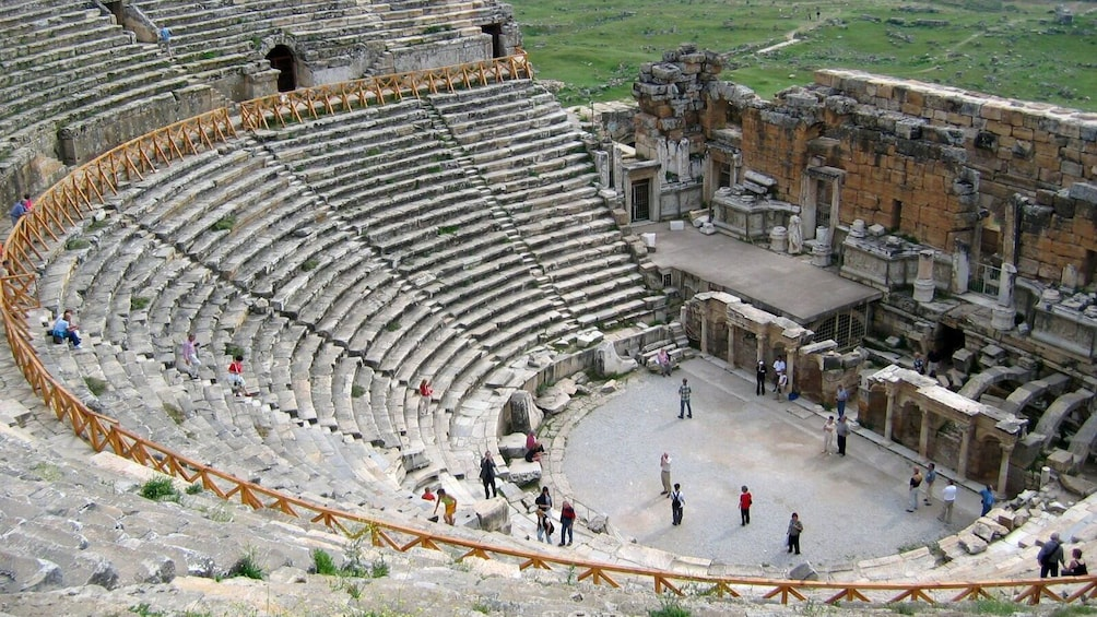 Show item 3 of 5. ancient amphitheater in turkey