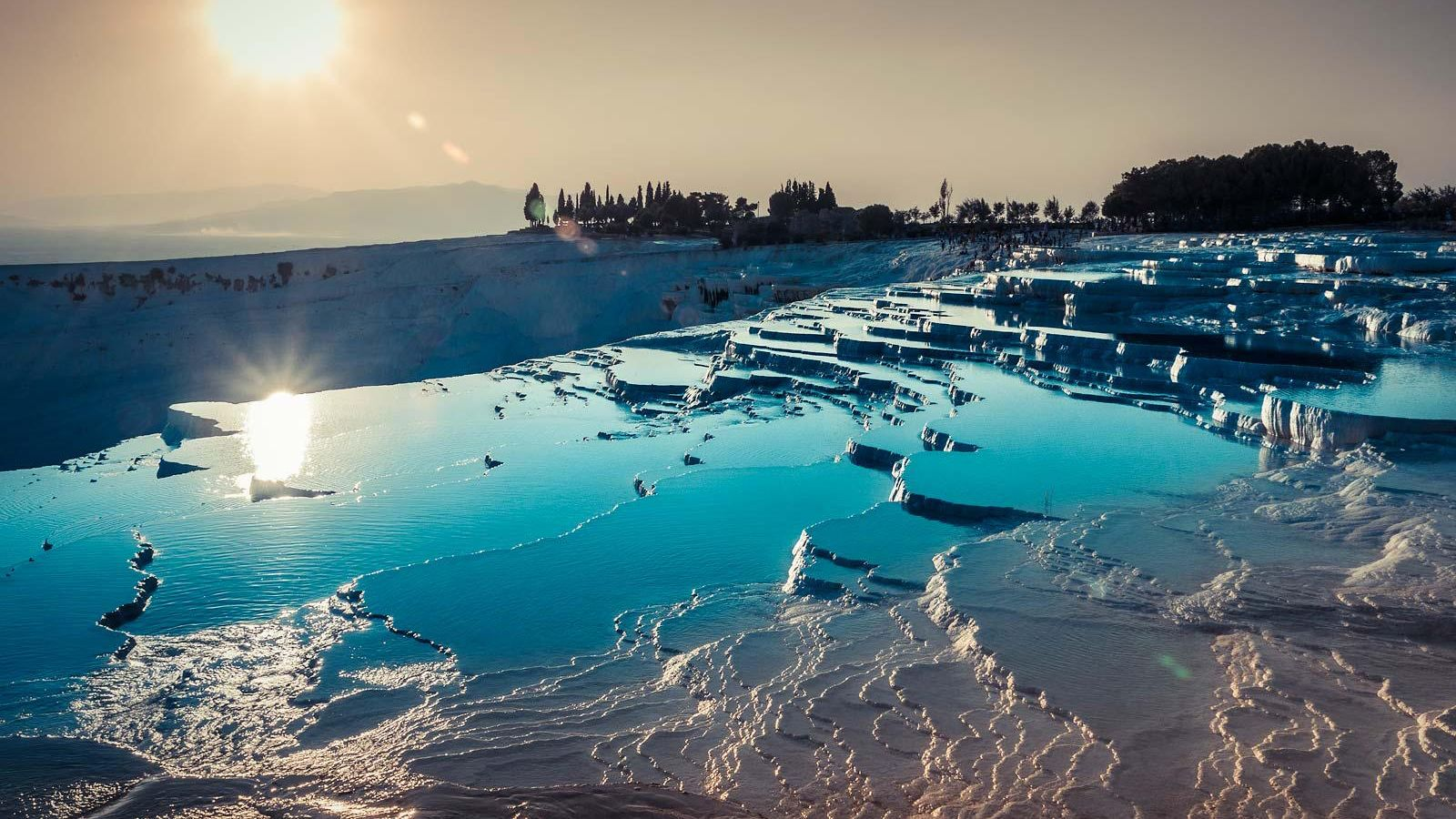 Pamukkale Day Trip Cleopatra Pool from Marmaris