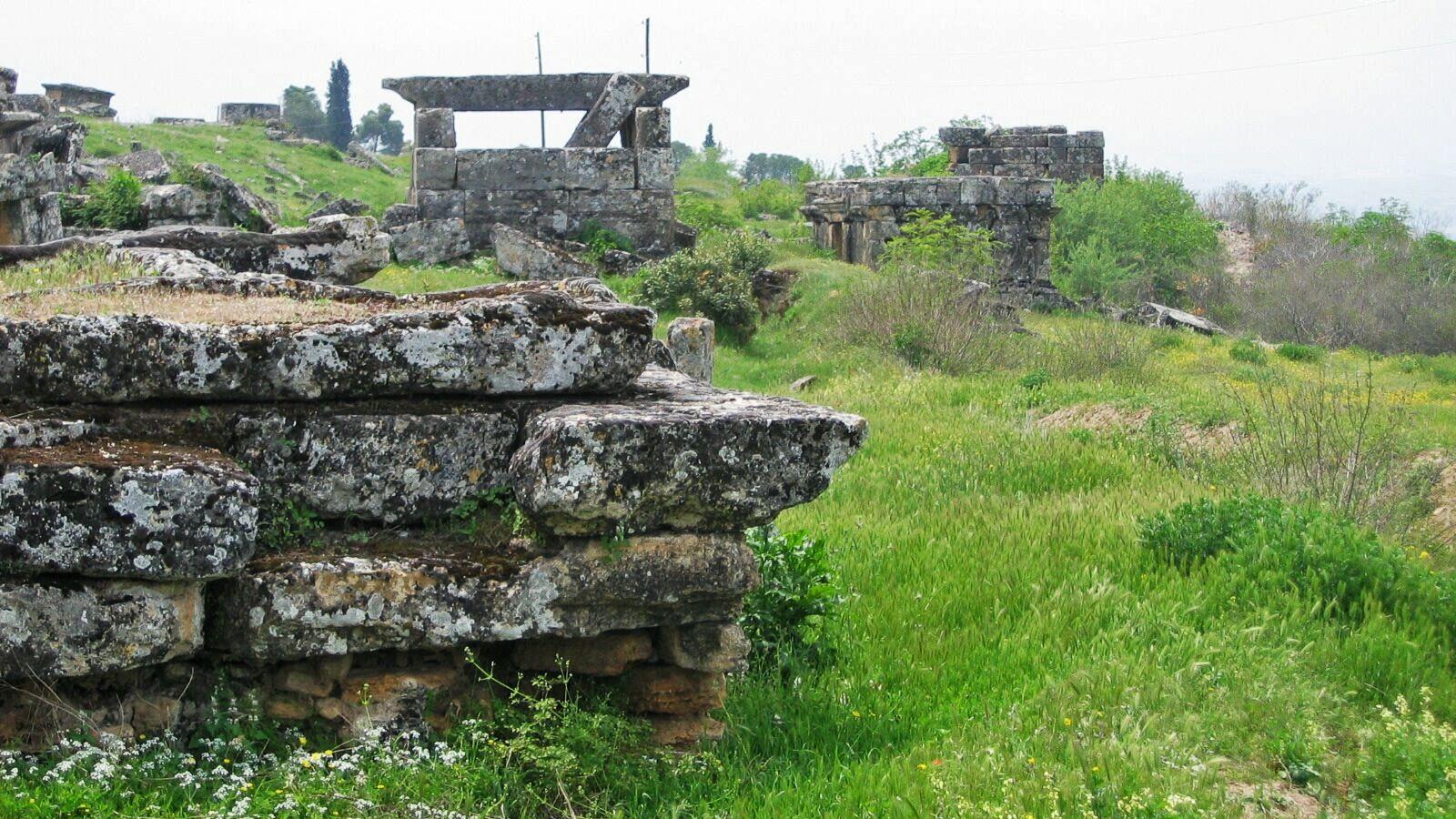 stone ruins in turkey