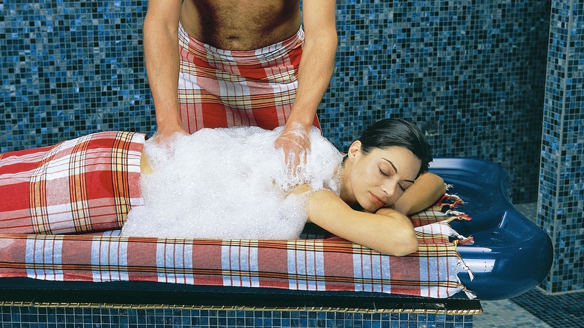 Turkish Baths Experience with Hotel Transfer Marmaris