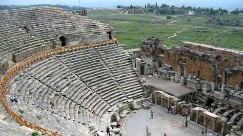 ancient stone theater