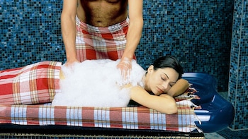 Turkish Baths Experience with Hotel Transfers from Bodrum