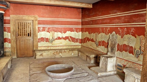 Ancient Throne Room in Knossos