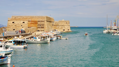Fortress and harbor in Heraklion