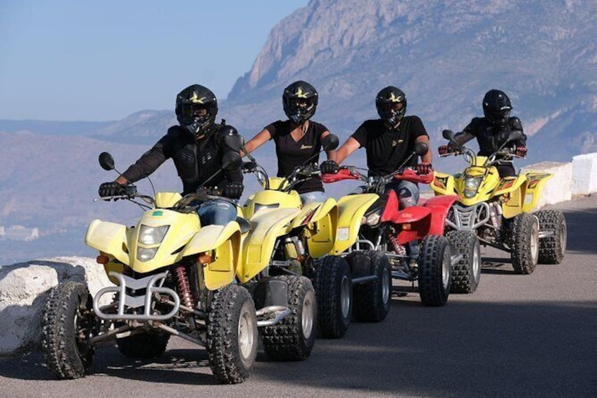 Quad Bike Tour (ATV) Benidorm