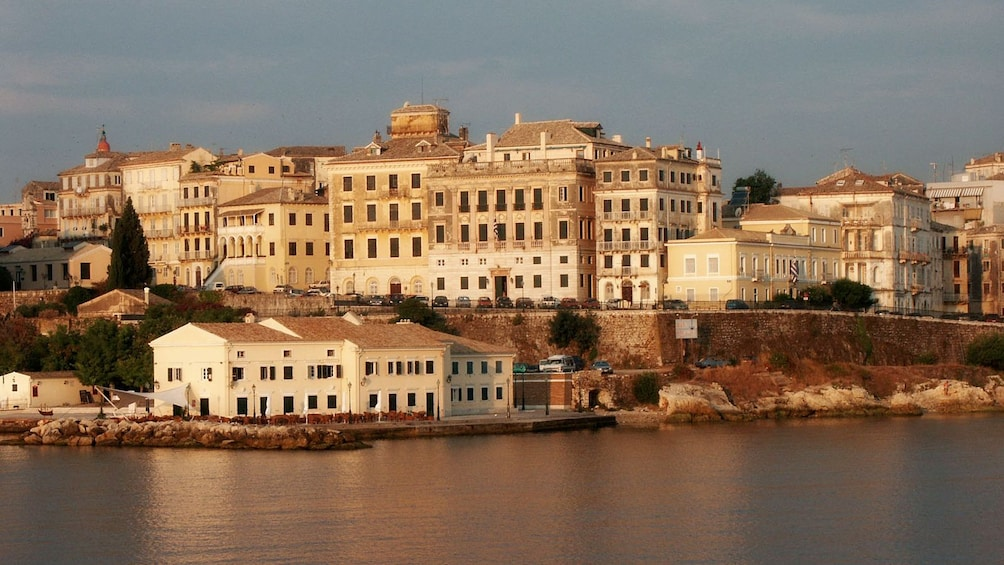 Show item 2 of 5. Cityscape from the water on Corfu