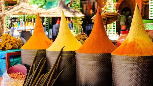 Spice and scent shop within Djemaa El Fnaa Square in Marrakech