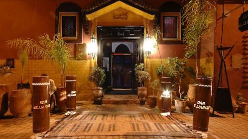 Dar Nejjarine Moroccan restaurant near Koutoubia