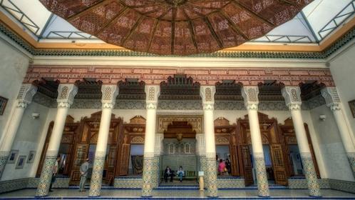 Public square within El Bahia Palace