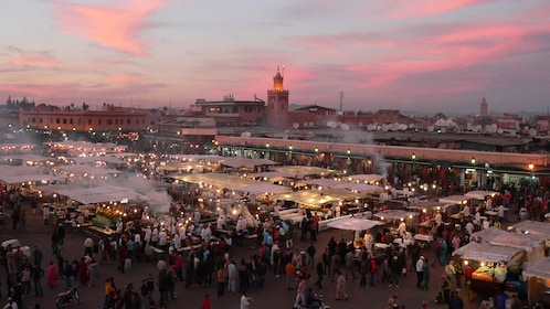 Djemaa El Fnaa Square in Marrakech, Morocco