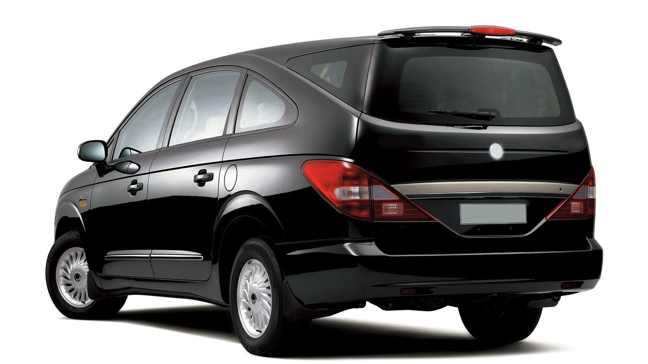 van for tour