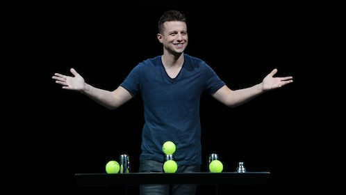 Live performance of Mat Franco