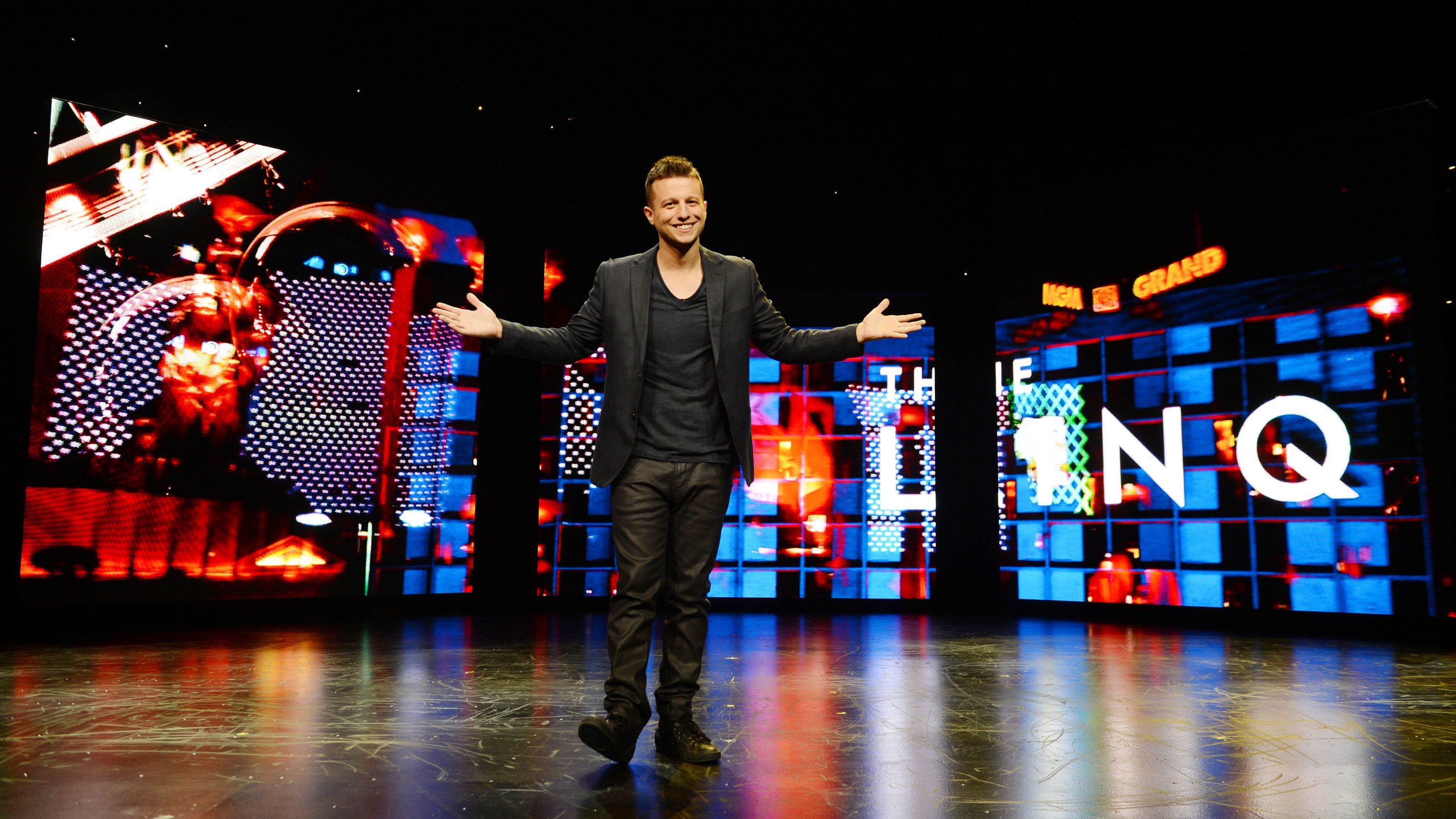 Mat Franco takes the stage