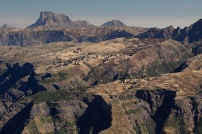 Day Trek in the Simien Mountain