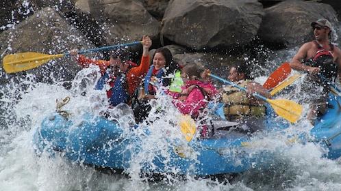 Rafting group in Colorado