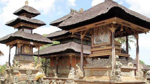 temple style building in Bali