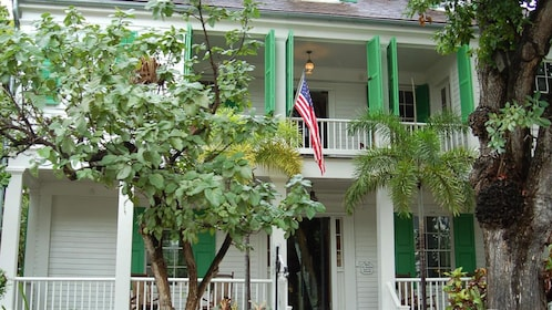 An old historical home in Key West