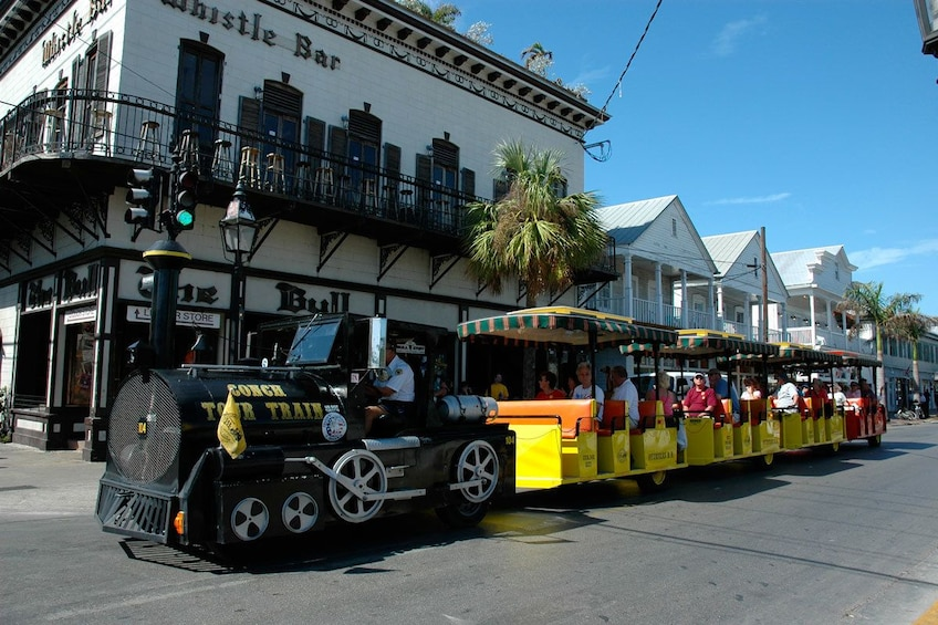 Show item 1 of 8. Key West & Conch Train from Fort Lauderdale