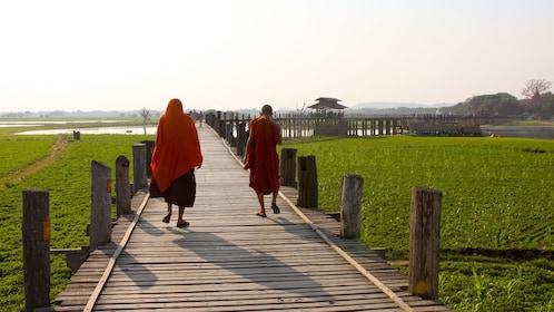 Panoramic view of Mandalay