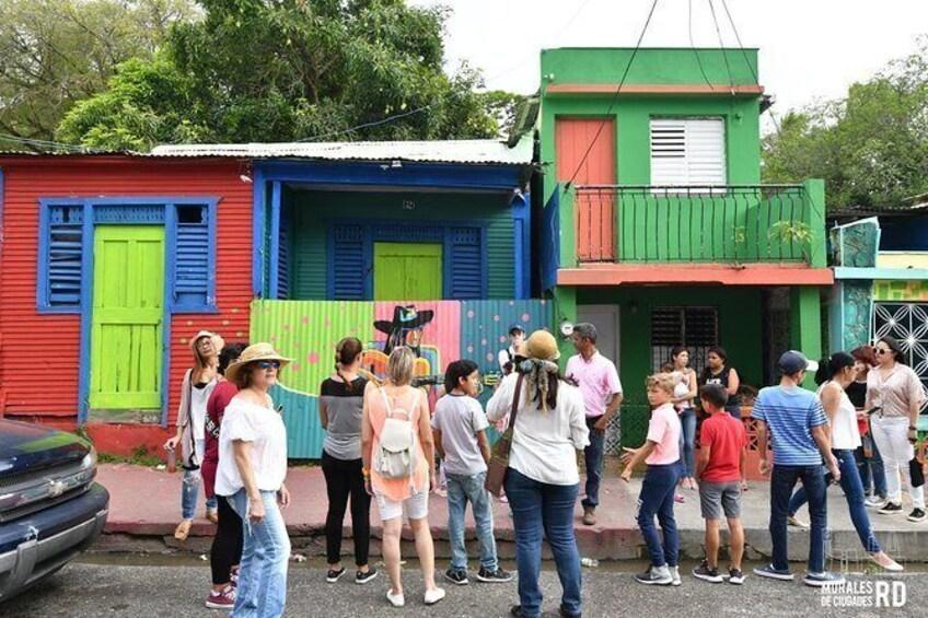 Cultural Route of murals (Los Pepines, Santiago de los Caballeros)