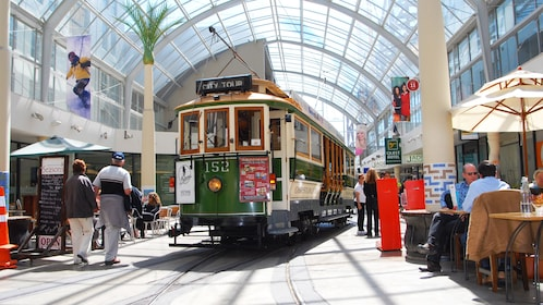 View of the Christchurch Tramway Dinner in Christchurch