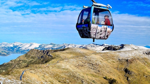 Serene view of the Port Hills Gondola Experience in Christchurch