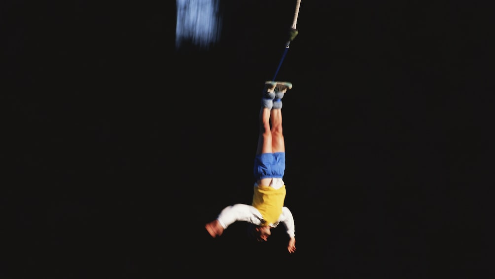 Show item 3 of 5. Guest Bungee Jumping at Hanmer Springs
