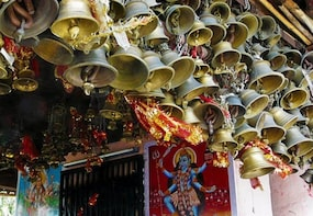 Ancient Hindu Temple Drive At Mcleodganj